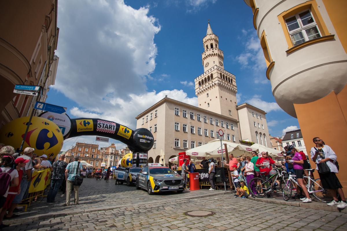 Kolarskie święto w Opolu. Wyścig Tour de Pologne wrócił po ośmiu latach! [GALERIA]